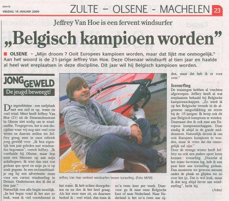 belgisch-kampioen-wekelijks-nieuws-16012009