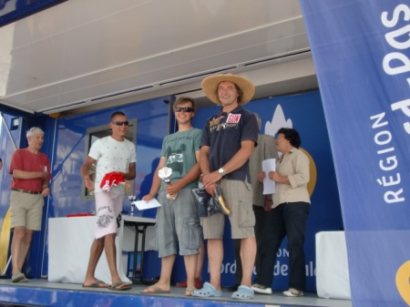 podium Formula North Sea Cup Wimereux